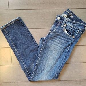 American Eagle Super Stretch Skinny Jeans 2 Short